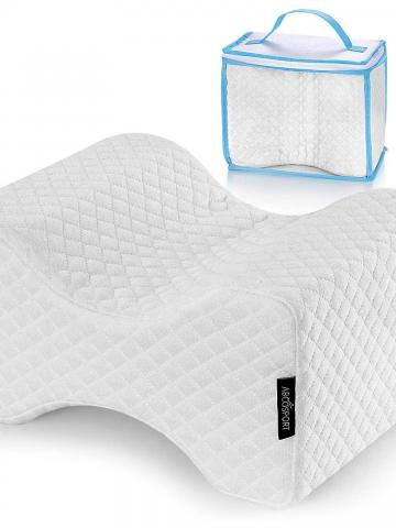 2-Pack: Abco Tech Memory Foam Knee Pillow For Side Sleepers