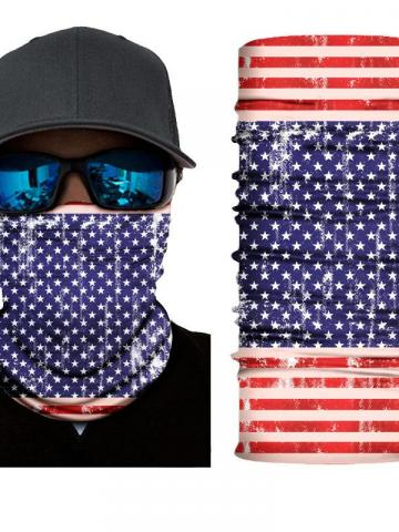 4-Pack: Motorcycle Face Mask and Dust Wind Protection / Type 7