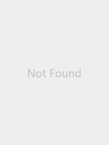 Cubic Zirconia Huggie Earrings / White Gold
