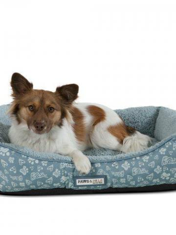 Tucker Murphy Pet Brownsdale Triangle Corner Lounger / Blue / Medium
